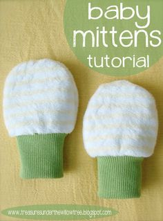 Sewing for baby can be so fun, but can also take up precious time if that baby is yours! We love quick sewing projects that will benefit your little one without pulling away from much-needed time to care for your infant or have a rest yourself. This baby mittens tutorial from Speckled Owl Studio will have you off of the sewing machine in no time with a pair of great mitts for baby's protection and warmth.