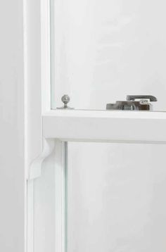 Heritage Rose sash window hardware detail
