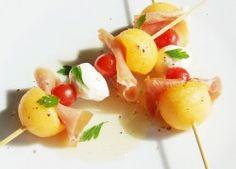 Sárgadinnyés étvágyfalatok