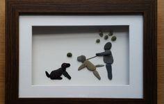 Custom Made Family Portraits. Pebble art. Seaglass Art by CornishPebbleArt on Etsy https://www.etsy.com/listing/242378014/custom-made-family-portraits-pebble-art