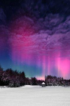 Beautiful night time sky