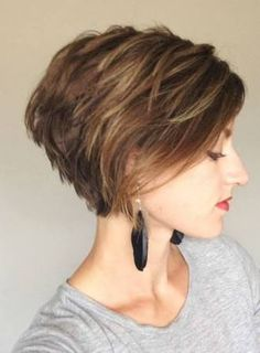 Image result for short stacked bob hairstyles 2014