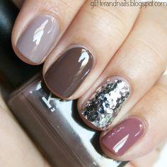 The Perfect Fall Mani! #nailart #fallmani #nails #fallnails #bellashoot