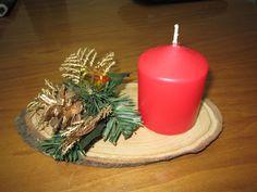 manualidades usando rodaja de madera   con una rodaja de madera que era la presentacion de unos quesos una ...