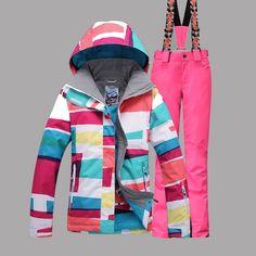 Skiing & Snowboarding 10k Winter Outdoor Mens Camouflage Ski Suit Super Waterproof Windproof Warm Snow Suit Outdoor Hiking Ski Suit Set Bib Pants Fragrant Aroma Sports & Entertainment