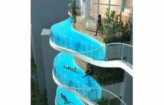 Balcony Pools in Mumbai, India