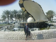 The Pearl Monument, Doha Doha, Suitcases, Riding Helmets, Clouds, Pearls, Travel, Viajes, Suitcase, Beads