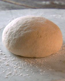 """This easy-to-follow recipe is creates a blank canvas for your pizza, allowing you to personalize it any way you want. The dough produces a thin, cracker-like crust that is slightly chewy and, most of all, delicious. From the book """"Lucinda's Rustic Kitchen,"""" by Lucinda Scala Quinn (Wiley)."""