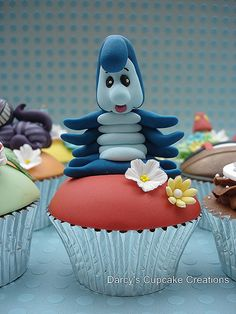 Caterpillar -   Alice in Wonerland Collection by Darcy's Cupcake Creations, via Flickr