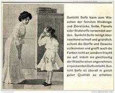 Original-Werbung/ Anzeige 1910 - SUNLICHT SEIFE / WASCHMITTEL - ca. 180 x 150 mm