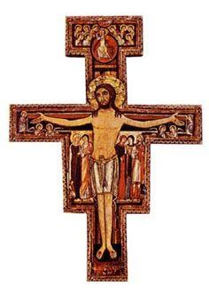 Franziskus-Kreuz.Tolles Geschenk ideal zur Kommunion, Konfirmation
