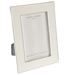 Enamel Photoframe in Cream from Laura Ashley Australia.