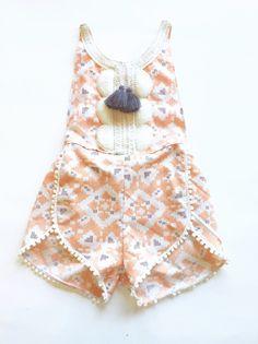hello, Wonderful - BEAUTIFUL HANDMADE BABY ROMPERS FROM THE BRASS RAZOO