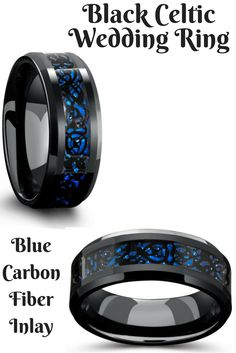 Mens celtic tungsten wedding bands crafted out of tungsten carbide