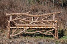 Custom Rustic Garden Furniture | Rustic Gazebo | Log Patio Furniture