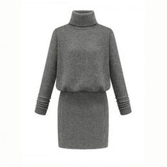 Casual Bodycon Slimming Long Sleeve..