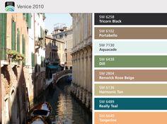 Venice colours.