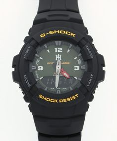 Hysteric Glamour Casio G-Shock G-100-1BMJF Watch