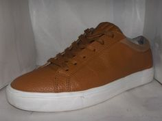 ANDROID HOMME MENS CARMEL LEATHER FASHION SNEAKER SIZE 9 #AndroidHomme #FashionSneakers