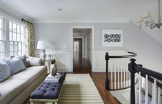 Far Hills, NJ | Martha O'Hara Interiors - Details on pillow