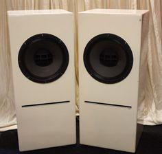 Par Altec Lansing monitores de estúdio 604 8g w Crossovers em Bass Reflex Armários | eBay