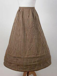 1870-1900 Crinoline Killerton Fashion Collection © National Trust / Sophia Farley and Renée Harvey