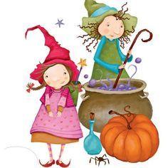 ilustraciones de brujas en pinterest - Buscar con Google