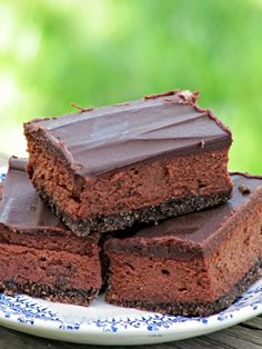 Once Upon A Chocolate Life: Chocolate Chocolate Cheesecake