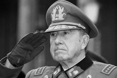 Leaked Report: US-Backed Pinochet Dictatorship had High-Level Ties to Child-Torturing Ex-Nazi's Fortified Cult Service Secret, Fidel Castro, Great Leaders, High Level, Armed Forces, Captain Hat, Baseball Hats, Chile, Spanish Classroom