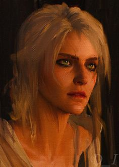 Ciri by GrigoriyTesla on DeviantArt The Witcher Books, The Witcher Game, Witcher 3 Wild Hunt, The Witcher Geralt, Witcher Art, Witcher Tattoo, Witcher Wallpaper, Girl Power Tattoo, Video Game Art