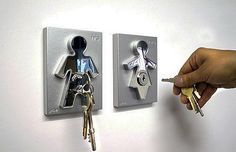 This would be perfect for my hubby, since I lose my keys nearly every day.