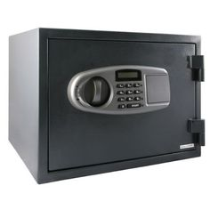LockState LS-35D Large Digital Fireproof Safe by LockState. $169.60. From the Manufacturer                The LockState LS-35D Fireproof Safe offers secure fireproof protection with an electronic lock and 2 user codes. This larger model safe protects your valuables and documents in a fire with temperatures up to 1850-Degree Fahrenheit for 1 hour. The electronic lock and override keys ensure that you will never be locked out and the dual locking bolts ensure that b...