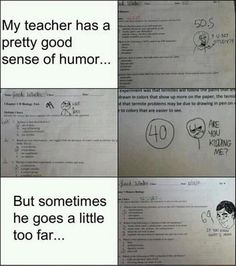 a funny test answers, scores http://ibeebz.com