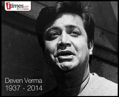 Iconic #bollywood comedian #DevenVerma passes away at 77 following a cardiac arrest. He'll always be remembered through his great performances.
