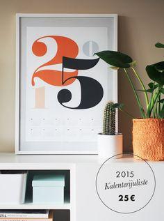 Calendarposter for 2015 now available in the blog! Frame, Blog, Home Decor, Picture Frame, Decoration Home, Room Decor, Blogging, Frames, Home Interior Design