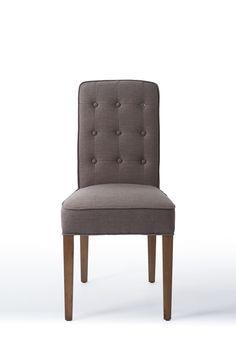 Стул обеденный серый с капитонами Mocca, Accent Chairs, Dining Chairs, Furniture, Home Decor, Upholstered Chairs, Decoration Home, Room Decor, Dining Chair