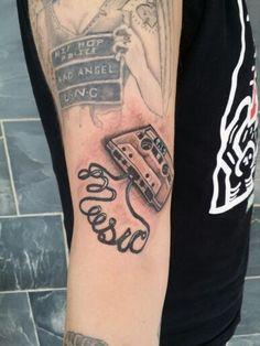 Tattoo cassette tape by spen