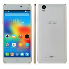 Elephone G7 5.5 inch HD MTK6592M Android 4.4 3G Smartphone-White--$215.99