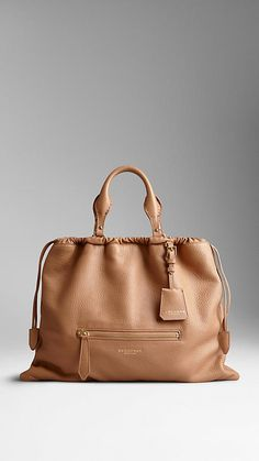 The Big Crush In Deerskin   Burberry Roomy and buttery soft.