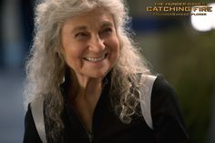 Lynn Cohen as Mags in The Hunger Games: #CatchingFire. (Photo credit: Murray Close)
