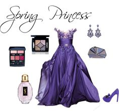 """""""Spring Princess"""" by donna-bianca on Polyvore"""