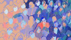 Holly Warburton - The Red Jacket Kvinnor ej lika ifyllda som män - hirearki Painting Inspiration, Art Inspo, Illustrations, Illustration Art, Wow Art, Pretty Art, Aesthetic Art, Oeuvre D'art, Art Reference