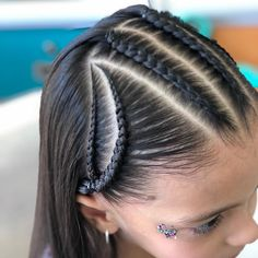 Cute Little Girl Hairstyles, Teen Hairstyles, Braid Styles For Girls, Short Hair Styles, Hair Express, Cut My Hair, Cute Little Girls, Hair Extensions, Hair Care
