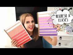 5 ideas fáciles para decorar tus cuadernos o libretas / MegaTuto ✎ Craftingeek - YouTube