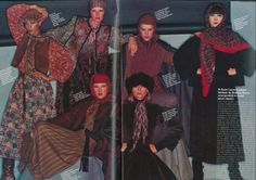 vogue italy 1976 sayoko