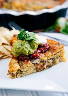 Roasted Green Chile Relleno Casserole | Some the Wiser