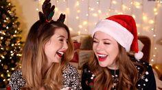 Hilarious Christmas Quiz With Zoella! | Tanya Burr