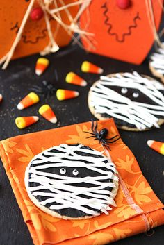 Halloween Mummy Cookies | Cookin' Canuck