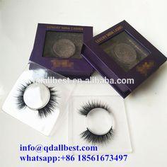 Wholesale 100% Real Siberian Mink Fur Custom Packing Private Label Mink Eyelashes 3D Mink Lashes