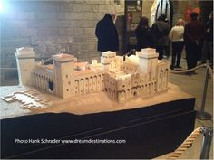 Model of the Palace. This is the largest gothic palace in Europe. Palace of the Popes Avignon France Palaces, Gothic, Europe, France, Model, Goth, Palace, Scale Model
